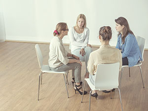 Support group for anorexia